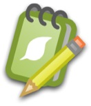Notebook icon color 155px shadow