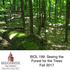 BIOL 199: Seeing the Forest For the Trees icon
